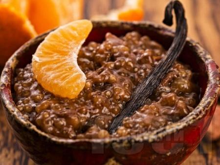 Шоколадов тапиока пудинг - снимка на рецептата